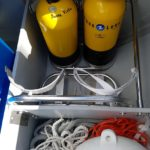 Support diving bottles Lagoon 42 2017 (2)