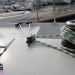 Deck hardware and Parasailor