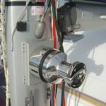 Installation winch électrique ANDERSEN sur Nautitech 47