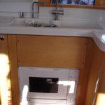 Installation d'un lave vaisselle sur Mahé 36