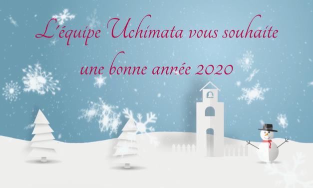 Toute l'équipe Uchimata vous souhaite une Bonne Année 2020 !