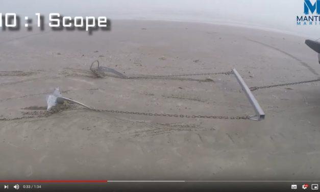 Vidéo comparative : l'Ancre M2 MANTUS VS l'Ancre ROCNA ORIGINAL