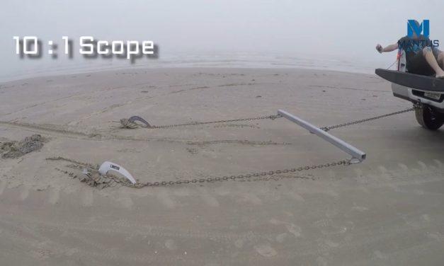 Vidéo comparative : l'Ancre M2 MANTUS VS l'ANCRE Rocna Vulcan